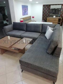 Γωνιακό σαλόνι με ανάκλιντρο