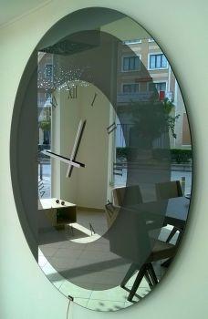 Καθρέπτης ρολόι στρογγυλός