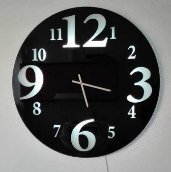 Ρολόι τοίχου 90x90 στρογγυλό